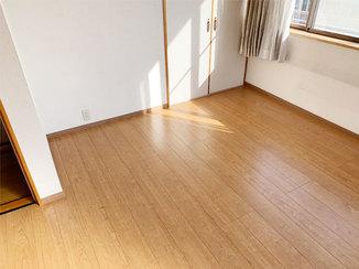 内装リフォーム 小さなお子さんの居る夫婦も2階で気兼ねなく暮らせる、生活音を軽減する床