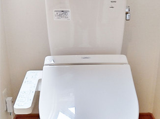 小工事 水漏れを解消!便座と取付金具の交換
