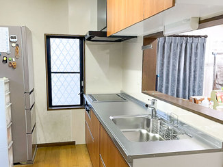 キッチンリフォーム 深型の食洗機がついた使いやすいキッチン